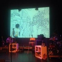 Videoscreening of Sheena Rose's work at Black Magic Woman Festival. © Sheena Rose