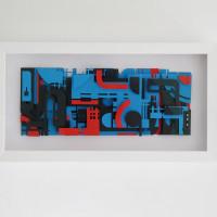 Collage in collaboration with Mick La Rock © ZEDZ Mick La Rock